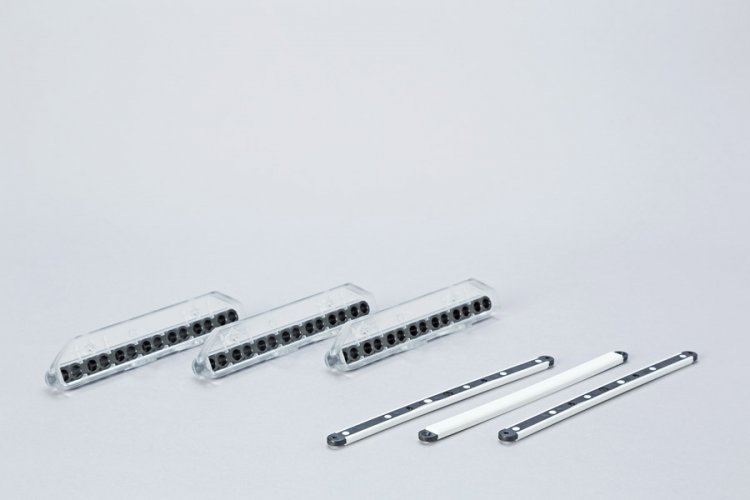 Food packaging machine components