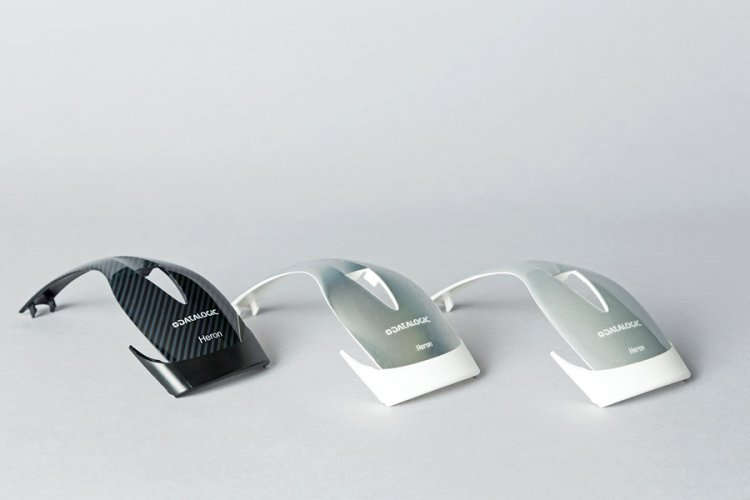 Barcode reader top cover